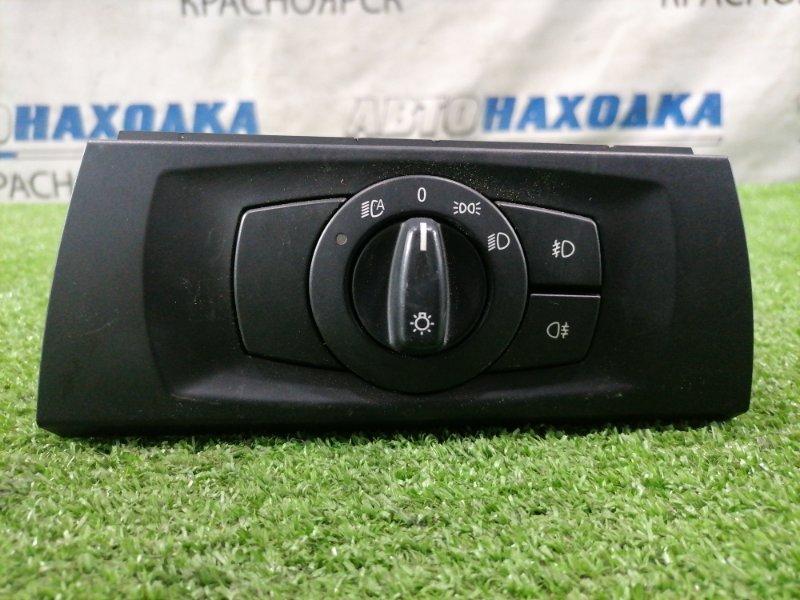 Переключатель света Bmw 320I E90 N46B20 2005 Переключатель света фар, правый = левый руль