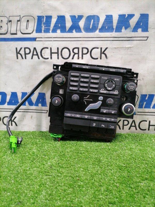 Климат-контроль Volvo Xc60 DZ44 B4204T6 2008 с кнопками управления магнитолой