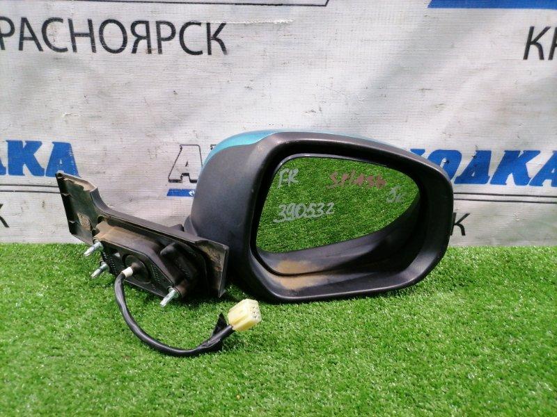 Зеркало Suzuki Splash XB32S K12B 2008 переднее правое Правое, 5 контактов. Есть потертость до