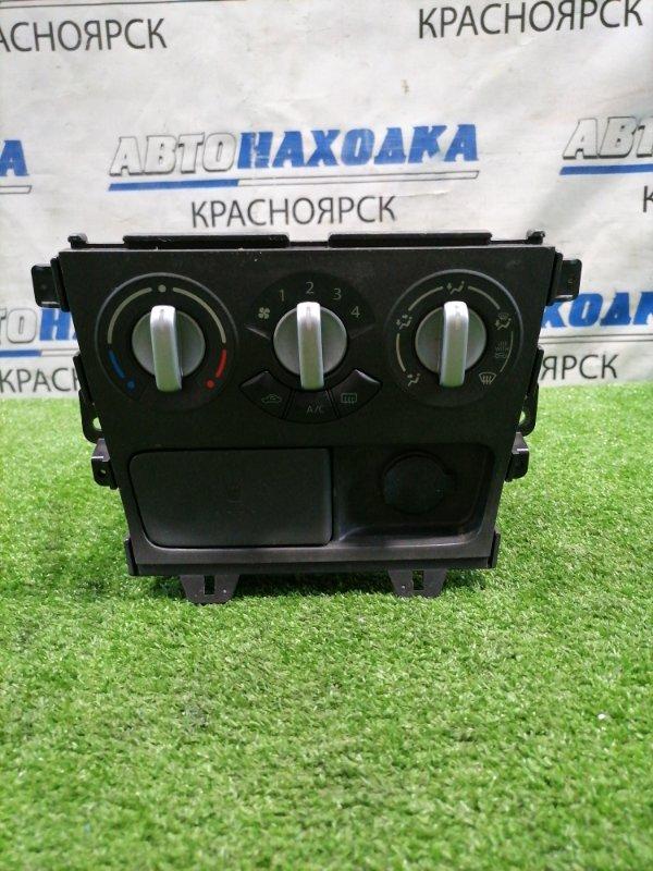Климат-контроль Suzuki Splash XB32S K12B 2008 механический, с розеткой 12v, с выдвижным