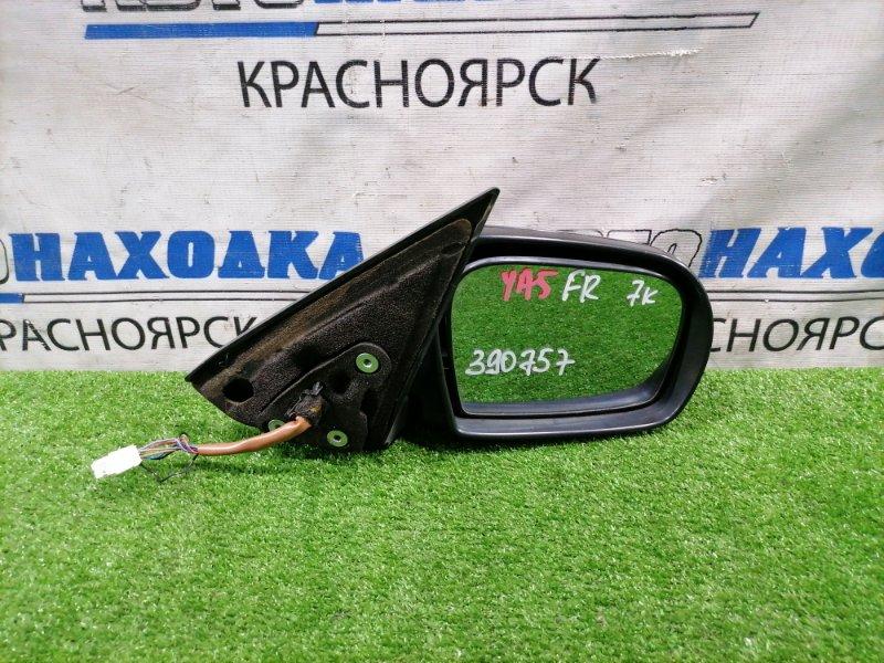 Зеркало Subaru Exiga YA5 EJ20 2008 переднее правое Правое, 7 контактов. Есть потертости.