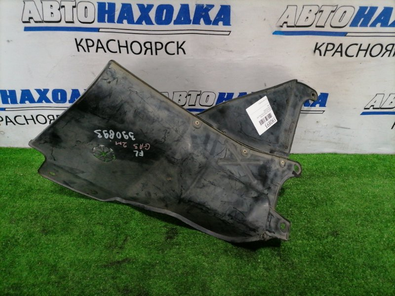 Защита двс Honda Logo GA3 D13B 1996 передняя левая нижняя 2 мод.