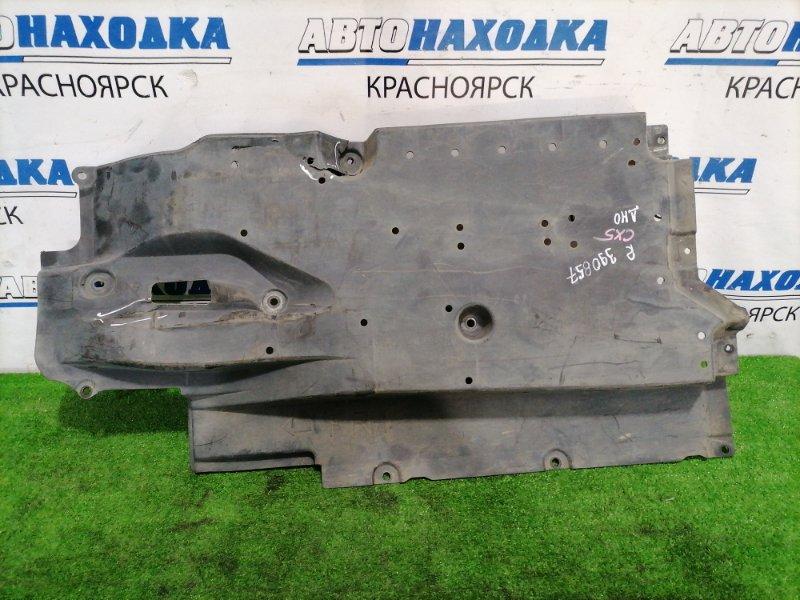 Защита Mazda Cx-5 KE2FW SH-VPTS 2012 правая нижняя Защита днища, правая. Имеется дефект одного