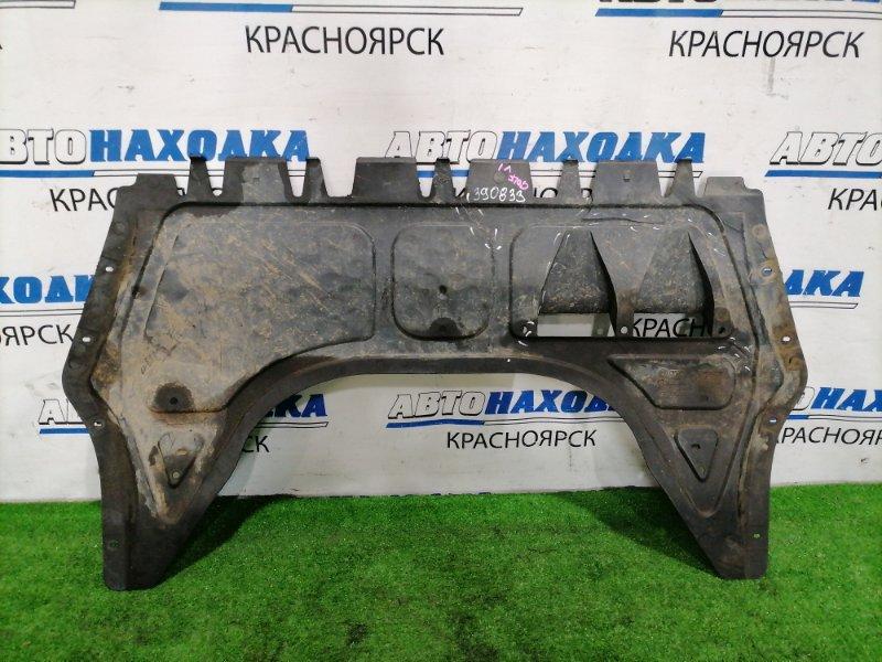 Защита двс Volkswagen Golf 5K1 CAXA 2008 передняя нижняя Передняя центральная сплошная. Имеются