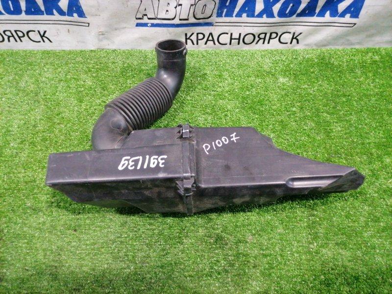 Влагоотделитель Peugeot 1007 KM TU5JP4 2005 резонатор воздушного фильтра, с патрубком. Есть