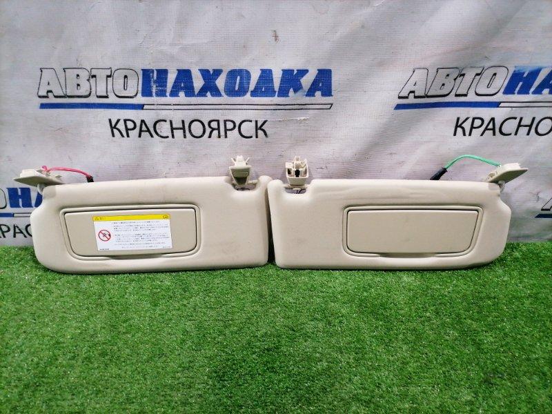Козырек солнцезащитный Volvo Xc60 DZ44 B4204T6 2008 пара L+R, с зеркалами, подсветкой, под