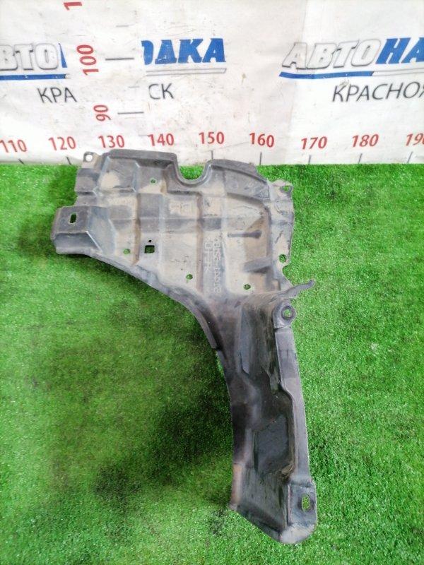 Защита двс Toyota Ractis NCP120 1NR-FE 2010 передняя правая нижняя