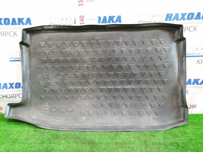 Коврик Volkswagen Polo 6R1 CBZB 2008 задний В багажник. Штатный. Хэтчбек.
