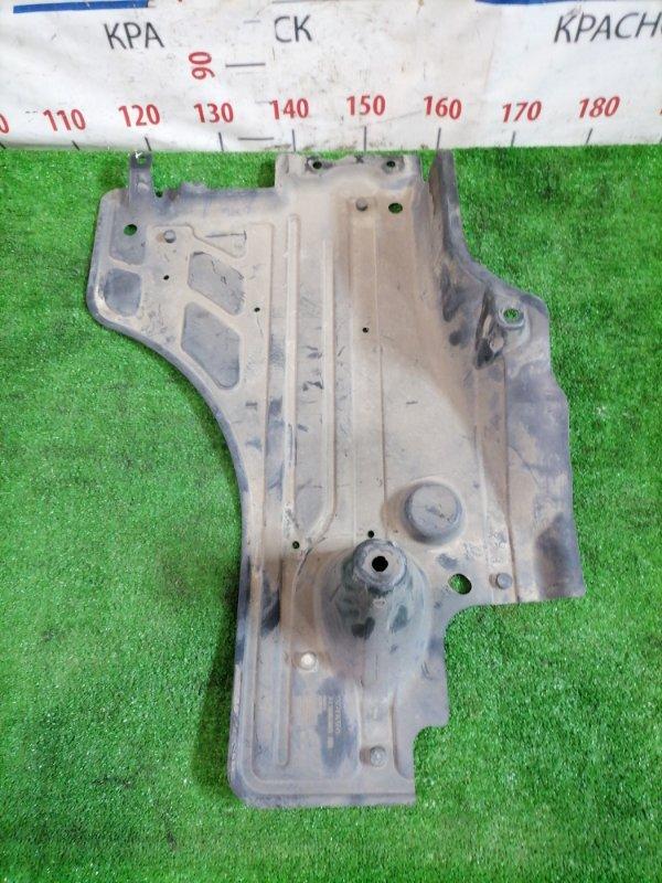 Защита топливного бака Volvo Xc60 DZ44 B4204T6 2008 задняя правая нижняя На бензобак.