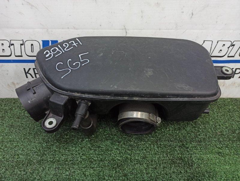 Влагоотделитель Subaru Forester SG5 EJ20 2005 резонатор воздушного фильтра на дроссель