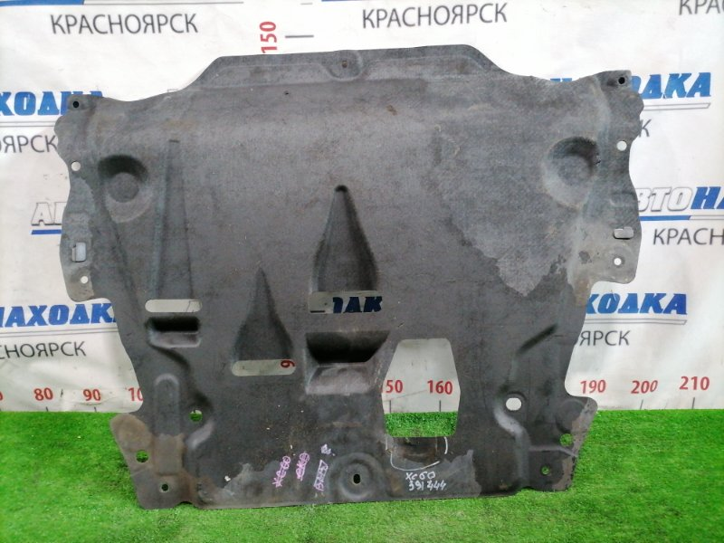 Защита двс Volvo Xc60 DZ44 B4204T6 2008 передняя нижняя 12346789102030 Передняя центральная сплошная под