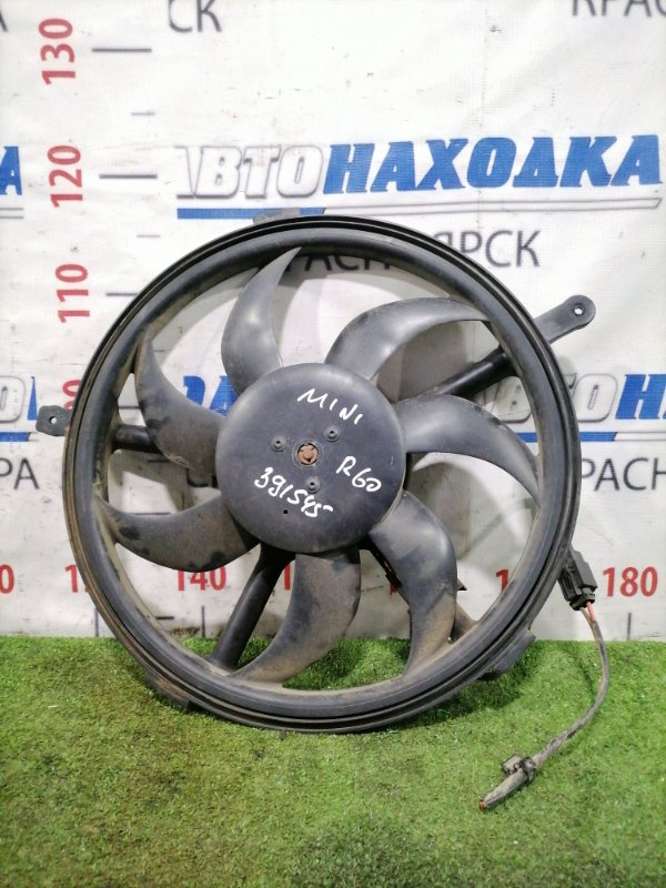 Вентилятор радиатора Mini Countryman R60 N14B16A 2010 На основной радиатор двигателя.