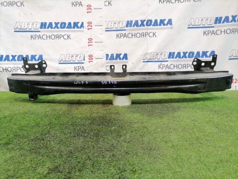 Усилитель бампера Volkswagen Golf 1K1 BLF 2003 передний Железный. GOLF V