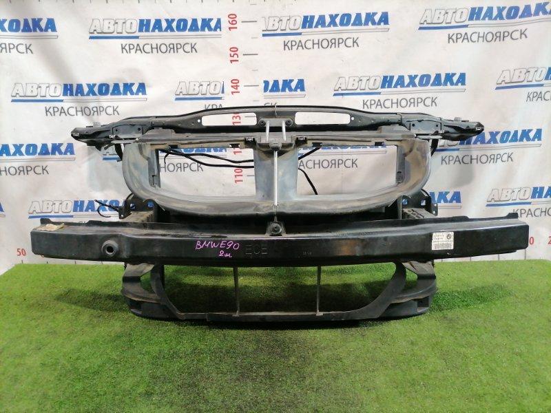 Рамка радиатора Bmw 320I E90 N46B20B 2005 С левым замком капота, воздухозаборником.