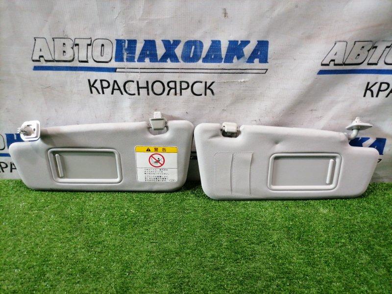 Козырек солнцезащитный Daihatsu Mira E:s LA300S KF-VE 2013 пара L+R, с зеркалами, под чистку.