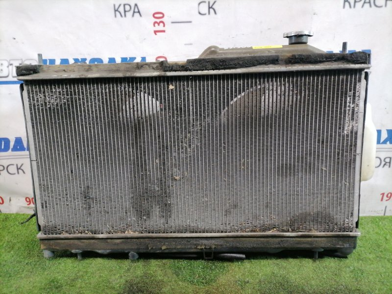 Радиатор двигателя Subaru Legacy BR9 EJ25 2009 Под АКПП, с диффузорами и вентиляторами + бачок.
