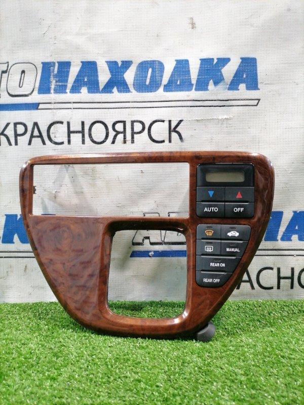 Климат-контроль Honda Odyssey RA6 F23A 1998 вертикальный, с консолью по дерево.