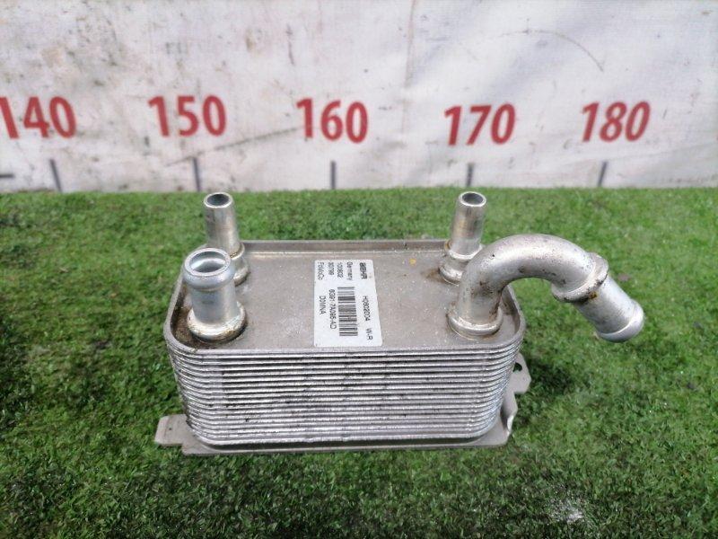 Радиатор акпп Volvo Xc60 DZ44 B4204T6 2008 Теплообменник (алюм) на АКПП, с радиатора.
