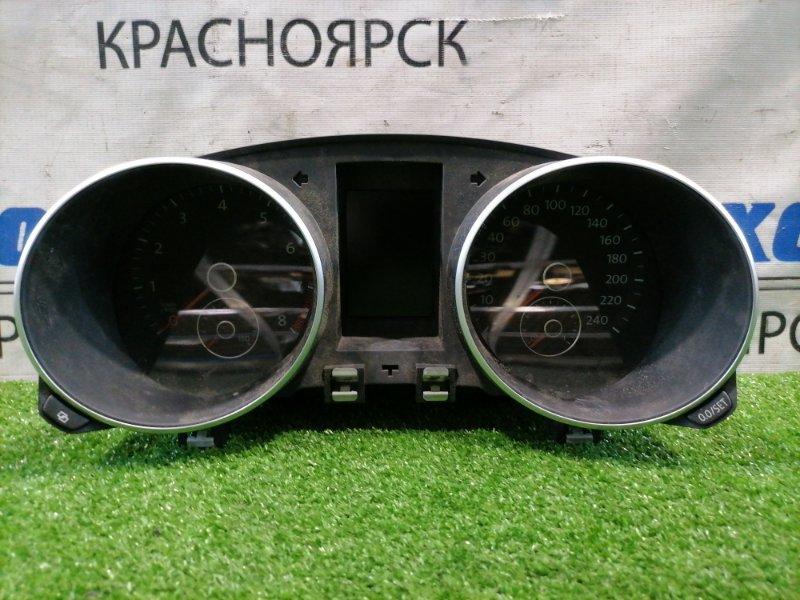 Щиток приборов Volkswagen Golf 5K1 CAXA 2009 под АКПП