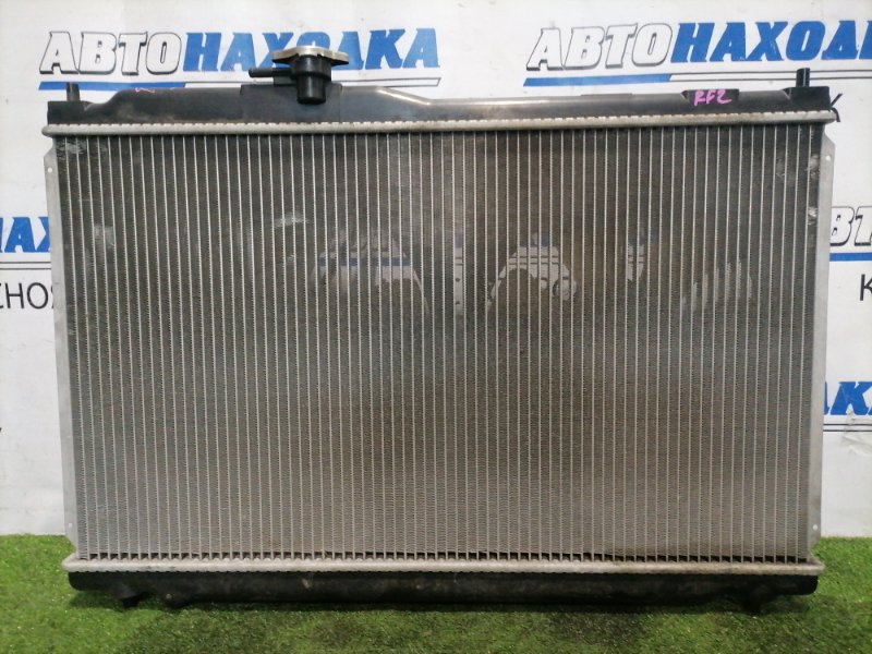 Радиатор двигателя Honda Stepwgn RF2 B20B 1999 Под АКПП. В сборе с диффузорами и