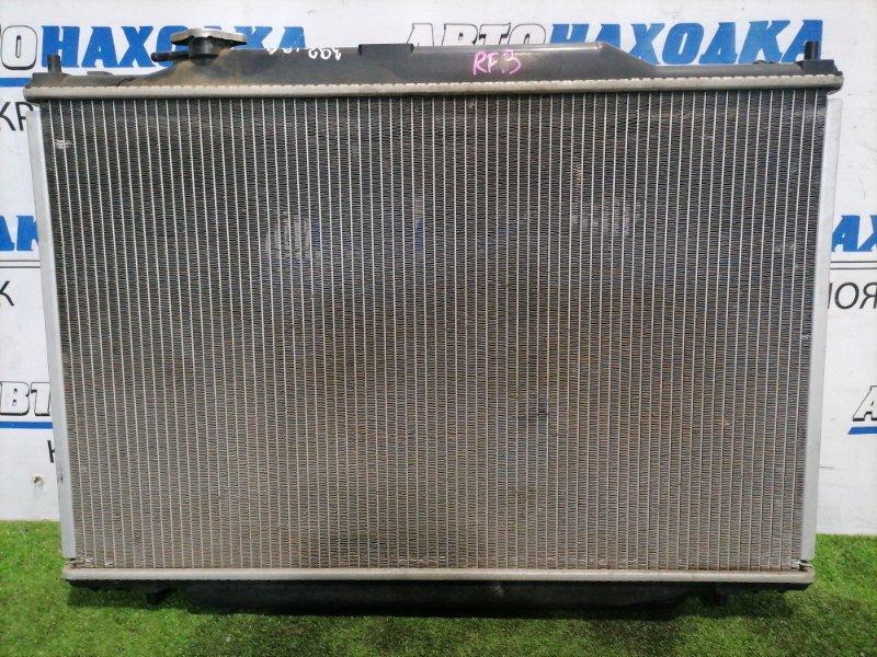 Радиатор двигателя Honda Stepwgn RF3 K20A 2003 Под АКПП. С диффузорами и вентиляторами +
