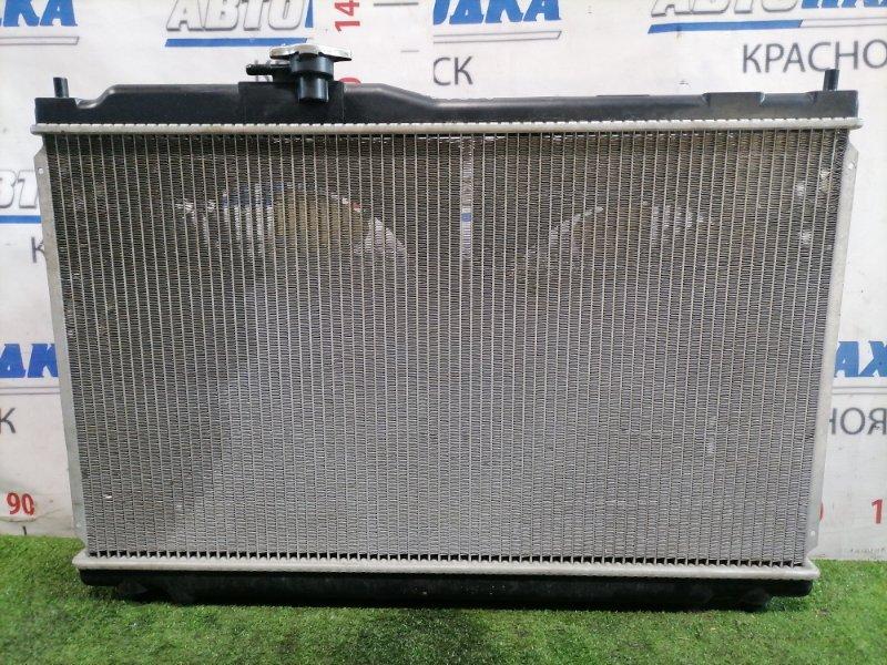 Радиатор двигателя Honda Stepwgn RF1 B20B 1999 Под АКПП. В сборе с диффузорами и вентиляторами.