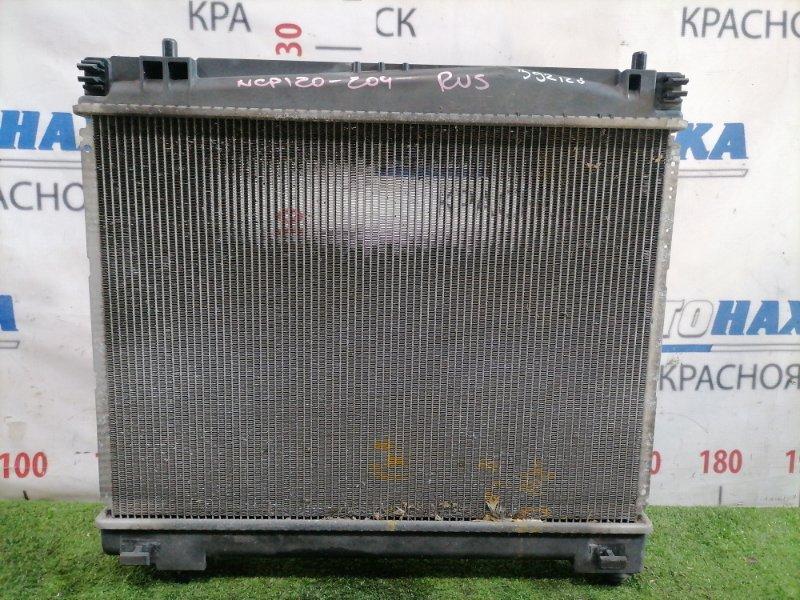 Радиатор двигателя Toyota Ractis NCP120 1NR-FE 2010 Только радиатор.