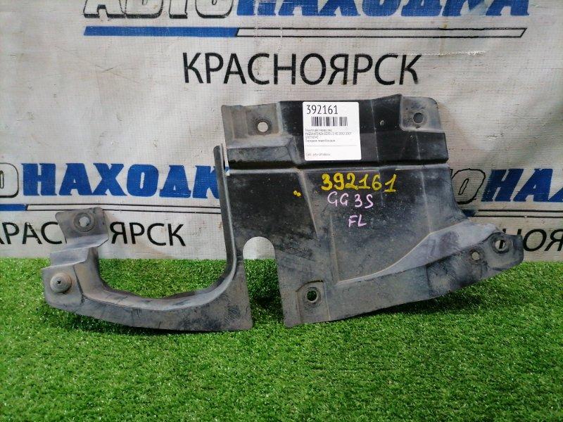 Защита двс Mazda Atenza GG3S L3-VE 2002 передняя левая Передняя левая боковая.