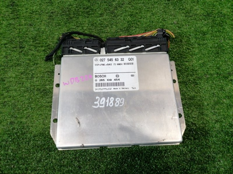 Компьютер Mercedes-Benz S320 220.065 112.944 1998 Блок управления рейкой EPS