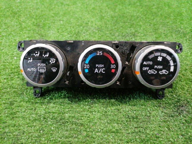 Климат-контроль Nissan Wingroad WFY11 QG15DE 2001 2 модель (рестайлинг), электронный, с фишками