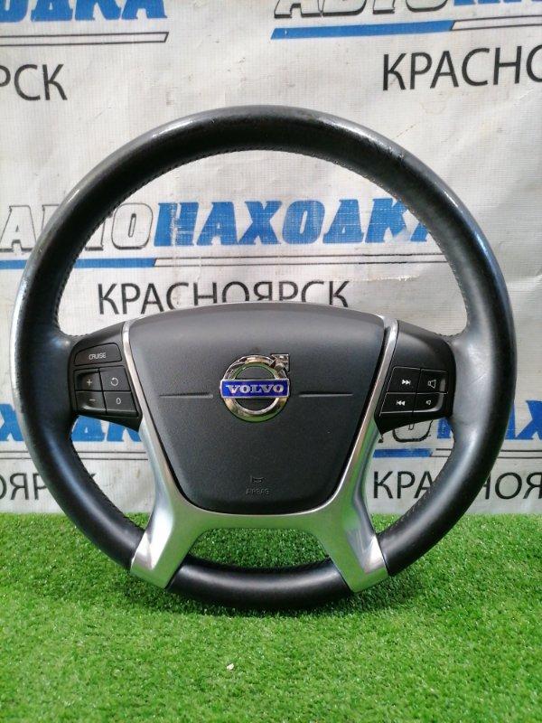 Airbag Volvo Xc60 DZ44 B4204T6 2008 водительский, с рулем, кожа, с кнопками, без заряда и подушки.