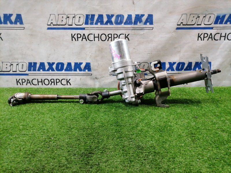 Колонка рулевая Suzuki Alto HA25V K6A 2009 с ЭУРом и блоком управления + карданчик
