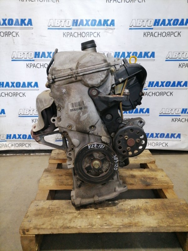 Двигатель Toyota Corolla Fielder NZE121G 1NZ-FE 2000 A145798 № A145798, пробег 116 т.км. С аукционного авто.