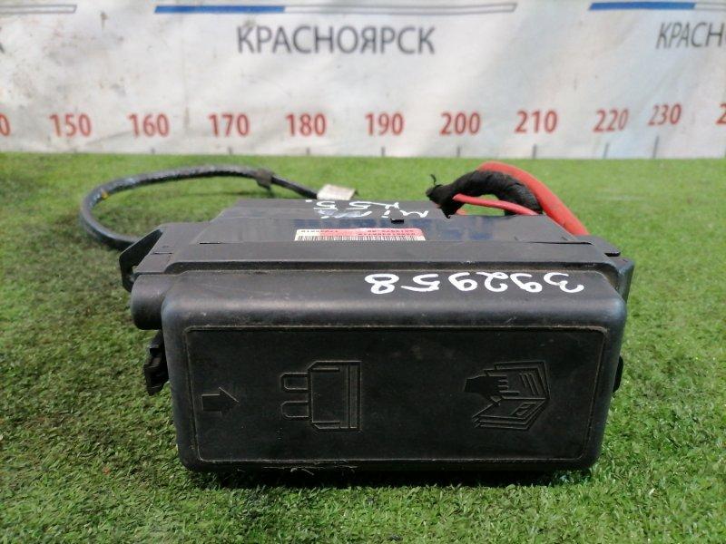 Блок предохранителей Mini Clubman R55 N18B16A 2008 подкапотный, в сборе.