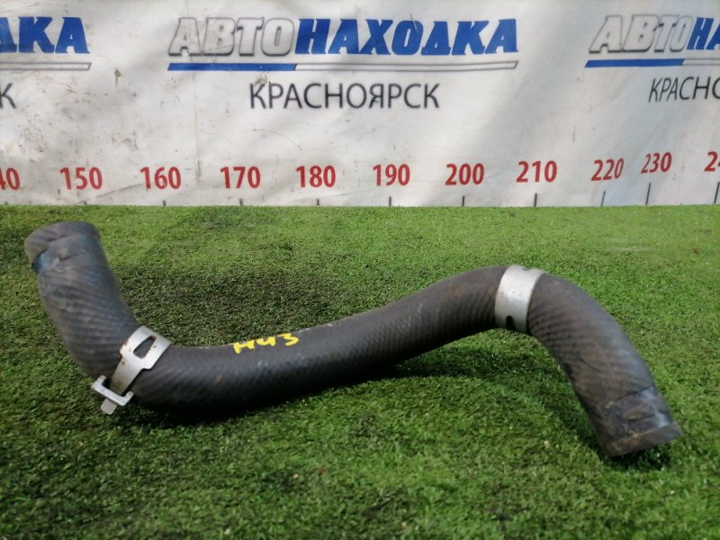 Патрубок тосольный Mazda Verisa DC5W ZY-VE 2006 нижний На радиатор, нижний, длинный.