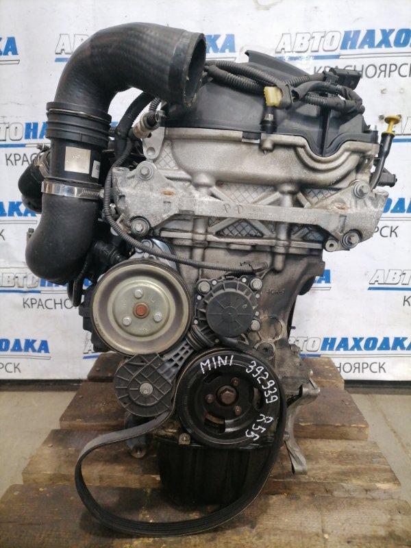 Двигатель Mini Clubman R55 N18B16A 2008 N18B16A, пробег 117 т.км. Турбо. С аукционного авто. Без