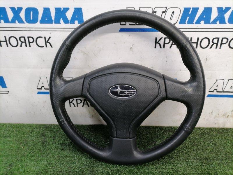 Airbag Subaru Forester SG5 EJ20 2005 с рулем, кожа, с подушкой, без заряда, в целом ХТС, есть
