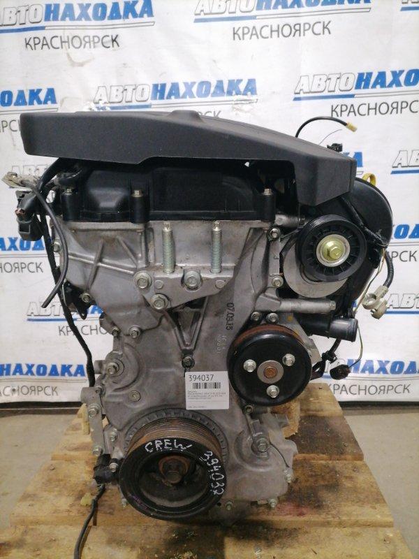 Двигатель Mazda Premacy CREW LF-DE 2005 № 10260768 пробег 19 т.км. ХТС. Без генератора, компрессора.