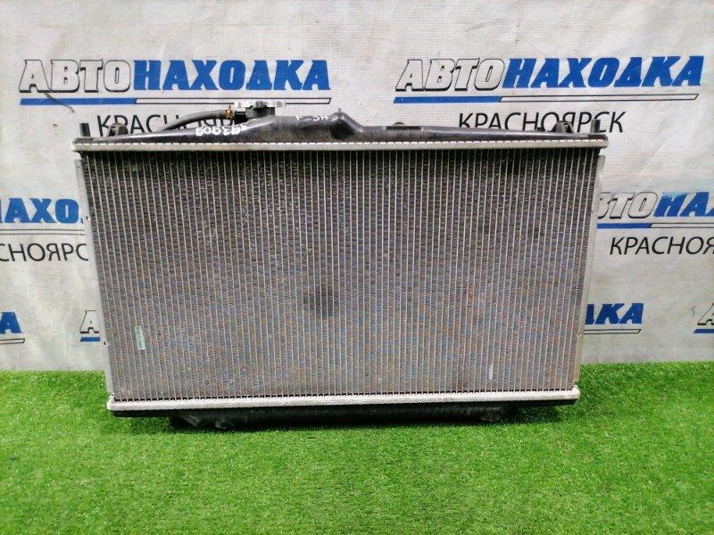 Радиатор двигателя Honda Accord CF6 F23A 1997 В сборе с диффузорами и вентиляторами. Под АКПП.
