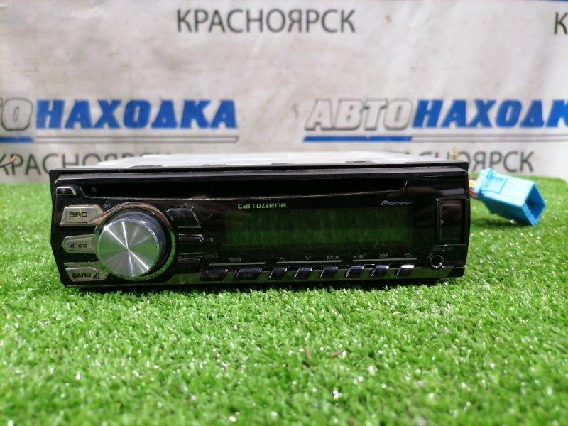 Магнитола Nissan Bluebird Sylphy FG10 QG15DE 2003 DEH-4100 PIONEER CARROZZERIA DEH-4100, 1DIN (178x50 мм), CD/MP3, FM/AM(японский