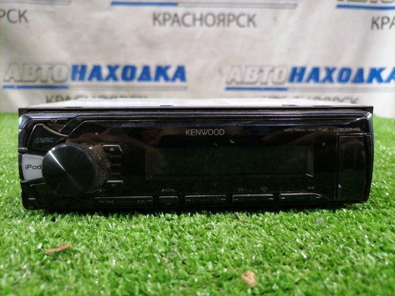 Магнитола Mazda Demio DY3W ZJ-VE 2002 KENWOOD U300MS. MP3, USB, AUX. Made in indonesia. С фишками