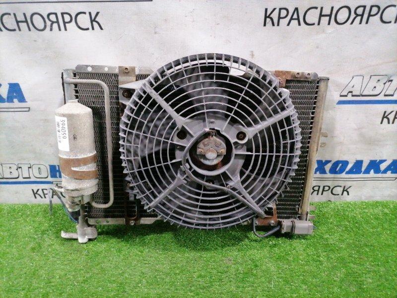 Радиатор кондиционера Suzuki Jimny JB33W G13B 1998 С диффузором, вентилятором, осушителем.