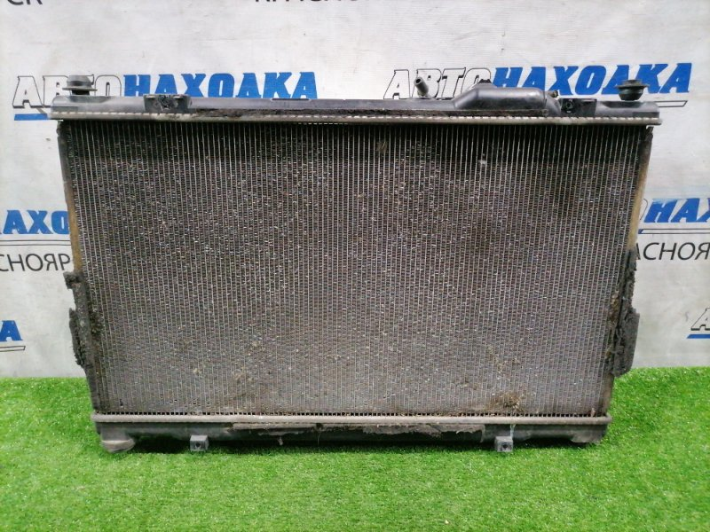 Радиатор двигателя Toyota Mark X GRX121 3GR-FSE 2006 в сборе с диффузорами, вентиляторами и