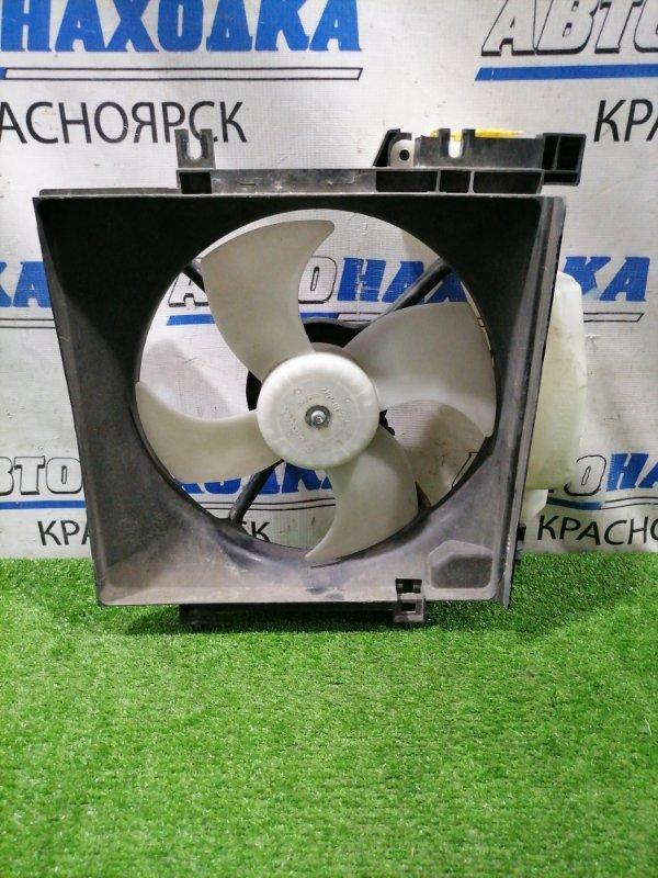 Вентилятор радиатора Subaru Exiga YA5 EJ20 2008 левый Левый, с расширительным бачком