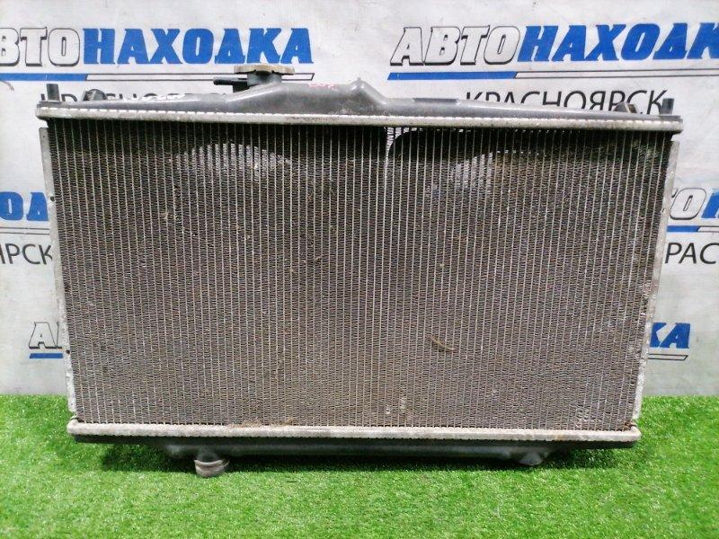 Радиатор двигателя Honda Accord CF4 F20B 1997 В сборе с диффузорами и вентиляторами. Под АКПП.