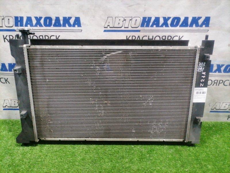 Радиатор двигателя Mitsubishi Colt Z21A 4A90 2002 422000-7353 В сборе с диффузором, вентилятором,