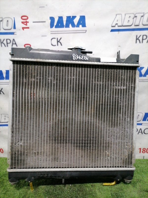 Радиатор двигателя Suzuki Jimny JB23W K6A 1998 Под АКПП. Только радиатор.