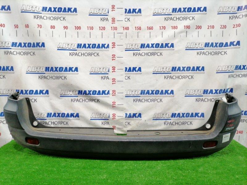 Бампер Toyota Lite Ace Noah CR52V 3C-E 1996 задний задний, некрашеный, с катафотами (7383). Есть