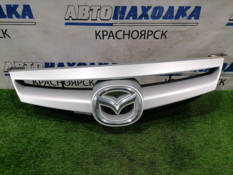 "Решетка радиатора Mazda Atenza GG3S L3-VE 2005 передняя ""SPORT"" 2 мод. (рестайлинг). Дефект одного"
