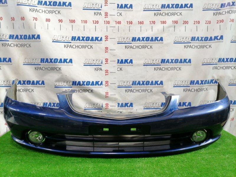 Бампер Honda Orthia EL2 B20B 1999 передний передний, рестайлинг (2 мод.), с туманками, цвет B96P. Есть